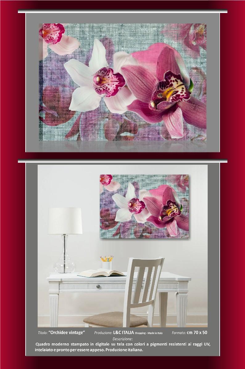 Quadri moderni tela zen arredamento casa spa benessere for Quadri moderni orchidee