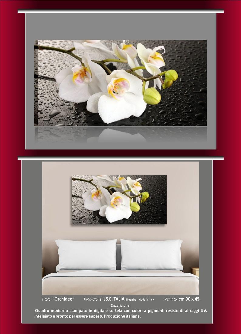 Quadri Per Bagno Moderno rose e note quadri l&c italia quadro moderno fiori 70 x 50