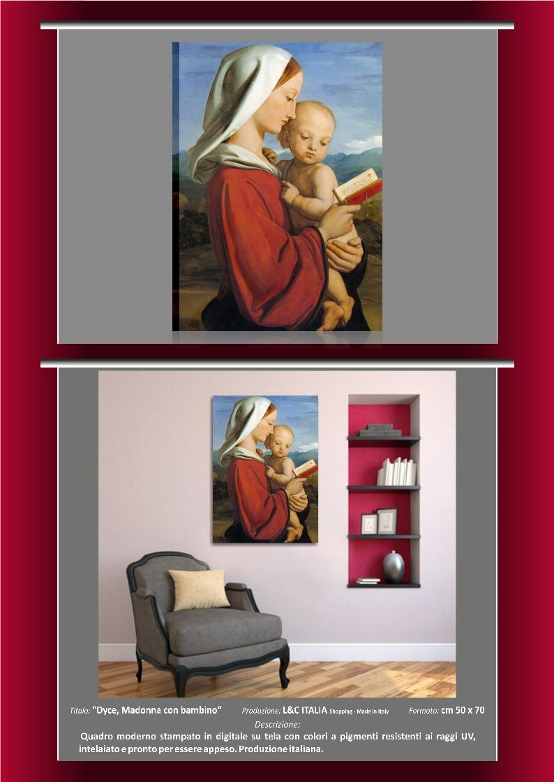 Quadri capezzali religiosi arredamento casa quadro vergine for Ebay quadri